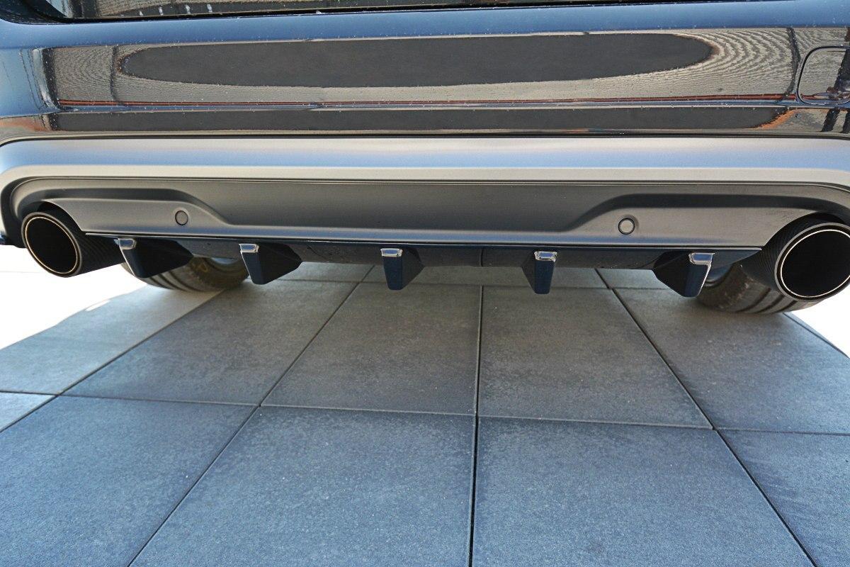 Dokładka Tył Volvo V60 Polestar Facelift - GRUBYGARAGE - Sklep Tuningowy